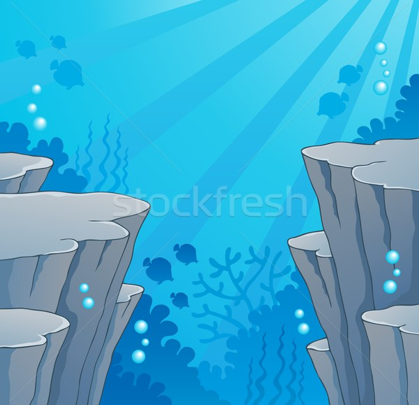 Image with undersea topic 2 Stock photo © clairev