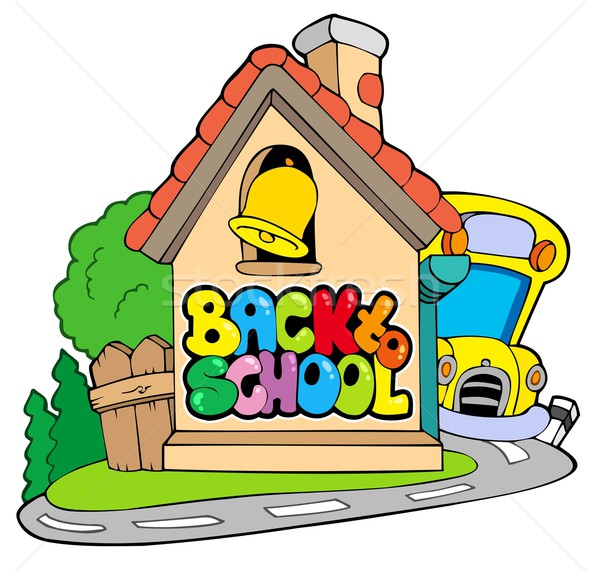 Back to school theme 2 Stock photo © clairev