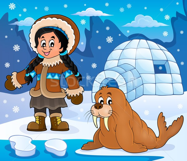 Arctic theme image 4 Stock photo © clairev