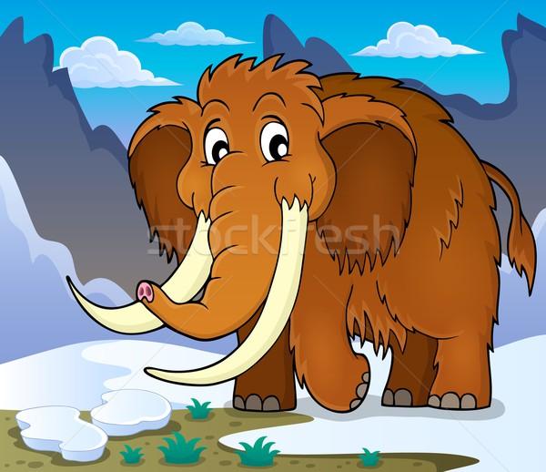 Mammoth theme image 1 Stock photo © clairev