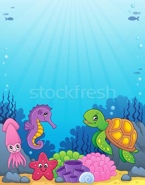海 生活 画像 幸せ 自然 芸術 ストックフォト © clairev