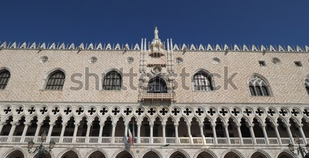 Milaan kasteel Italië zwarte retro witte Stockfoto © claudiodivizia