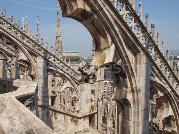 Stockfoto: Milaan · gothic · kathedraal · kerk · Italië