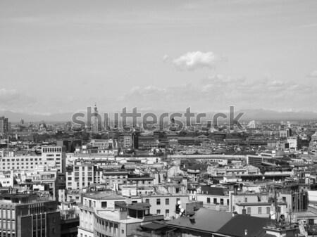 ミラノ イタリア 表示 市 ミラノ 建物 ストックフォト © claudiodivizia