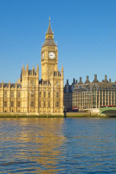 Evler parlamento Londra Big Ben westminster saray Stok fotoğraf © claudiodivizia