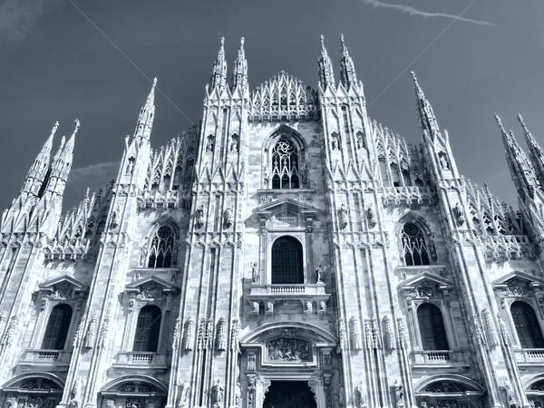 Милан Готский собора Церкви высокий Сток-фото © claudiodivizia