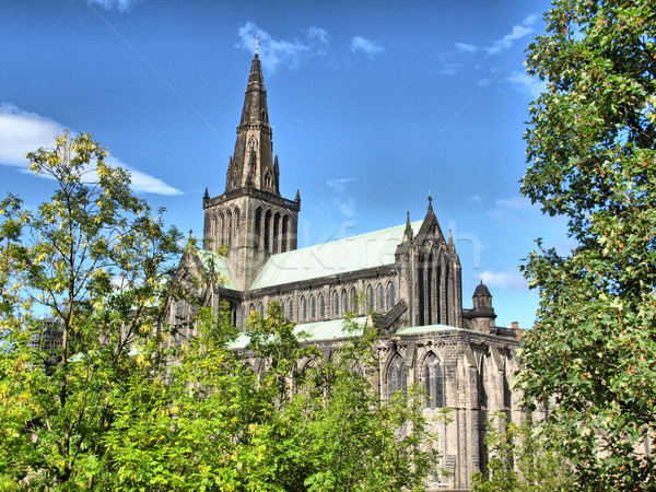 Glasgow cathedral - HDR Stock photo © claudiodivizia