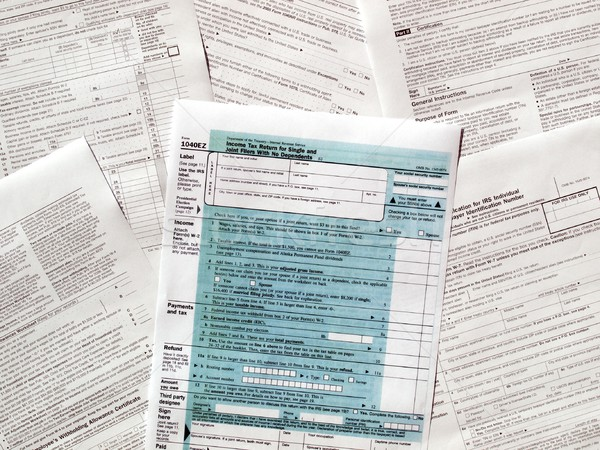 Tax forms Stock photo © claudiodivizia