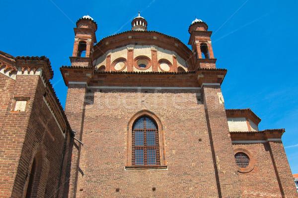 Igreja milan basílica Itália retro europa Foto stock © claudiodivizia