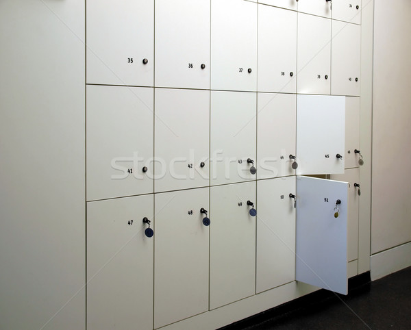 Lockers Stock photo © claudiodivizia