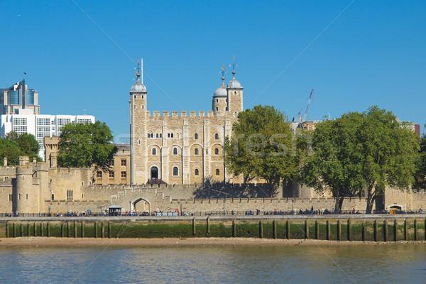 башни Лондон средневековых замок тюрьмы стены Сток-фото © claudiodivizia