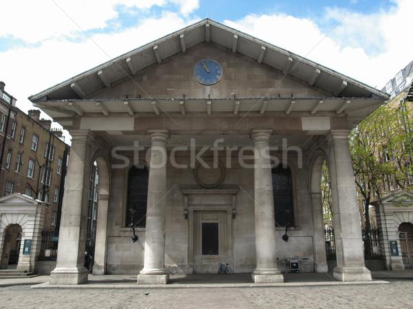 St Paul Church, London Stock photo © claudiodivizia