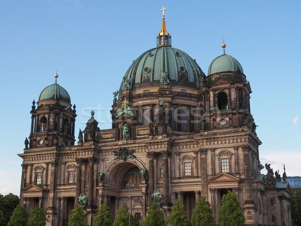Berliner Dom Stock photo © claudiodivizia