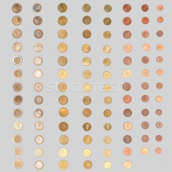 Stock photo: Euro coin