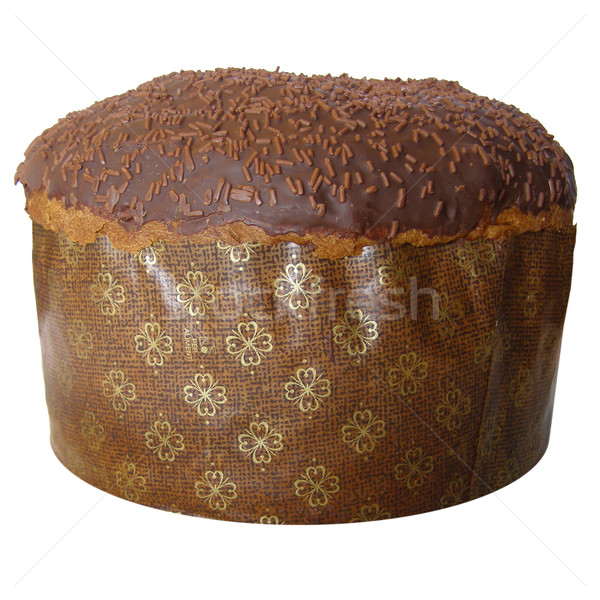 Panettone traditional Christmas Italian cake from Milan Stock photo © claudiodivizia