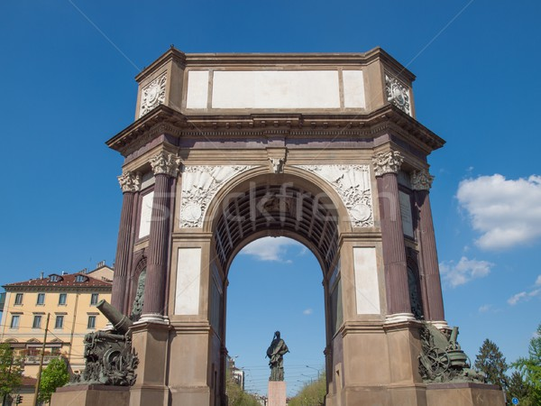 Turin Arch Stock photo © claudiodivizia