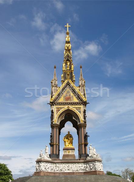 Albert Memorial, London Stock photo © claudiodivizia