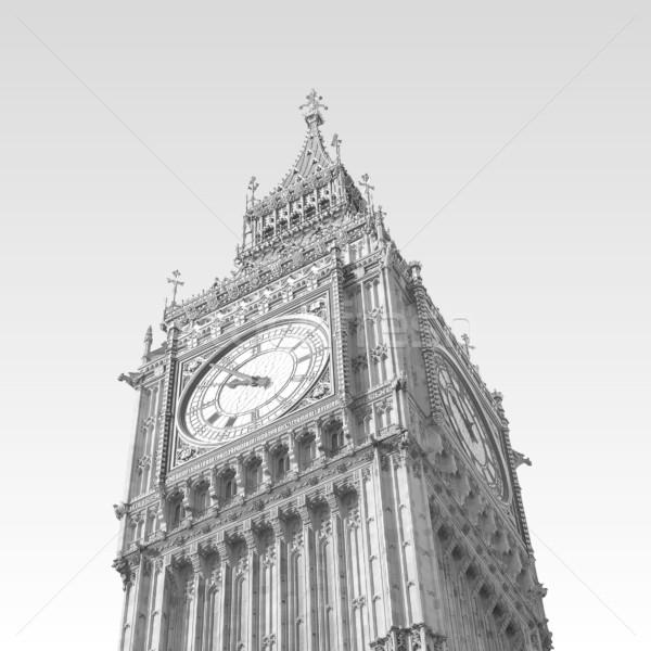 Big Ben maisons parlement westminster palais Londres Photo stock © claudiodivizia
