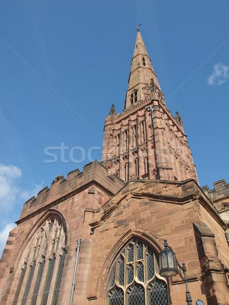 Holy Trinity Church, Coventry Stock photo © claudiodivizia