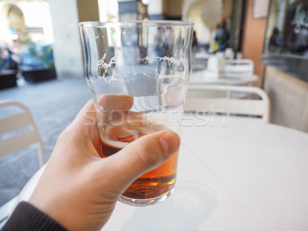Ale birra mano pinta britannico Foto d'archivio © claudiodivizia