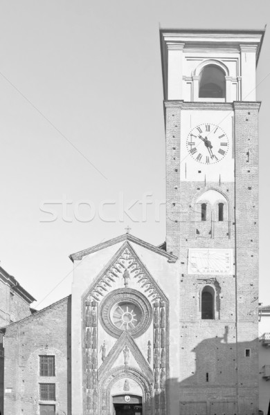 Duomo di Chivasso Stock photo © claudiodivizia