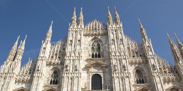 Duomo di Milano Stock photo © claudiodivizia