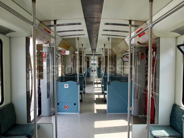 Train interior Stock photo © claudiodivizia