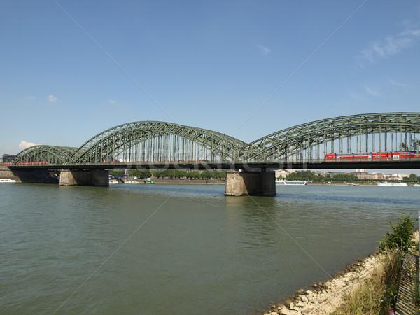 River Rhein Stock photo © claudiodivizia