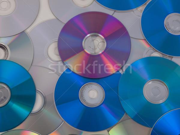 Cd disk optik müzik video Stok fotoğraf © claudiodivizia