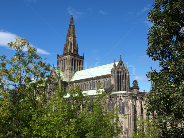 Stock photo: Glasgow cathedral