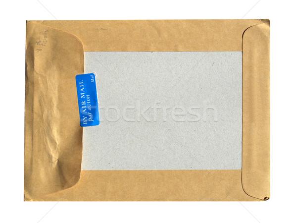 Luchtpost detail brief envelop post papier Stockfoto © claudiodivizia