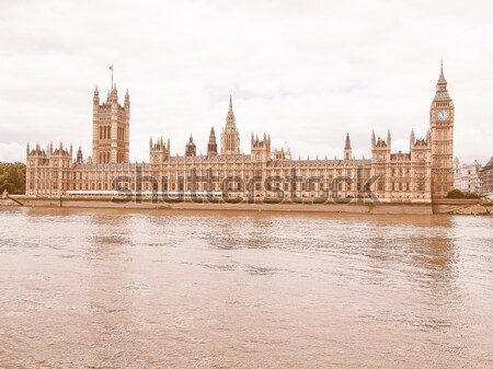 Casas parlamento westminster palácio Londres gótico Foto stock © claudiodivizia