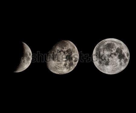 Moon phases Stock photo © claudiodivizia