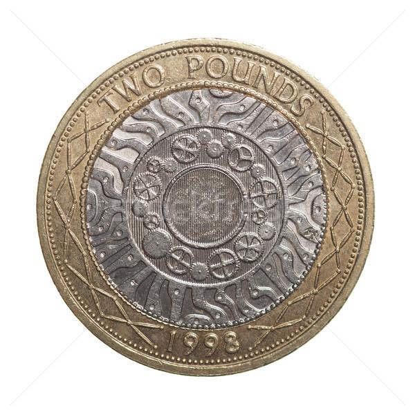 Two pounds coin Stock photo © claudiodivizia