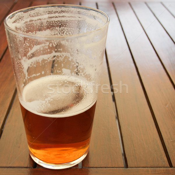 Stock photo: Beer drink