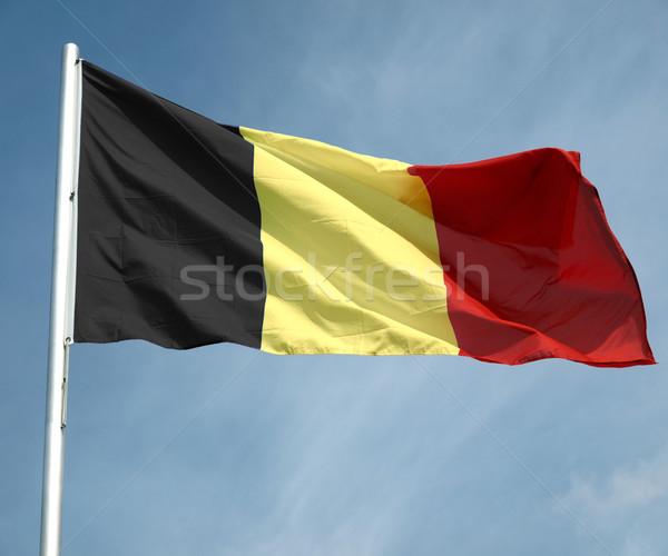 Flag of Belgium Stock photo © claudiodivizia