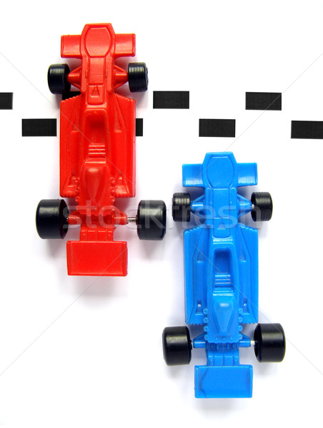 F1 formule een racing auto model auto Stockfoto © claudiodivizia