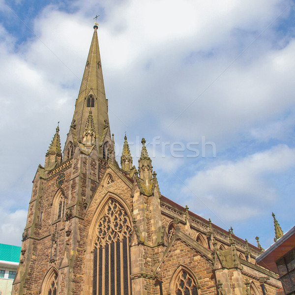 St Martin Church, Birmingham Stock photo © claudiodivizia