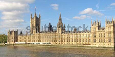 домах парламент Вестминстерский дворец Лондон Готский Сток-фото © claudiodivizia