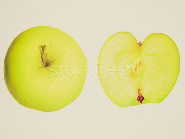 Retro look Apple isolated Stock photo © claudiodivizia