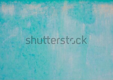 Masmavi turkuaz mavi su boya doku Stok fotoğraf © claudiodivizia