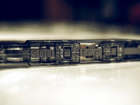 Nastro cassette magnetico audio musica Foto d'archivio © claudiodivizia