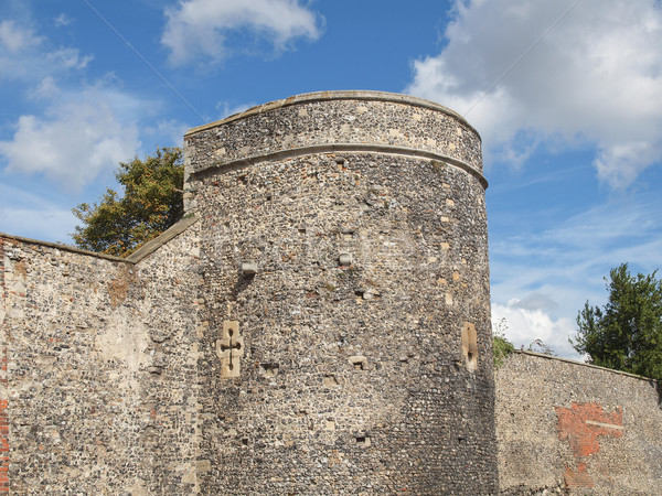 Canterbury City Walls Stock photo © claudiodivizia