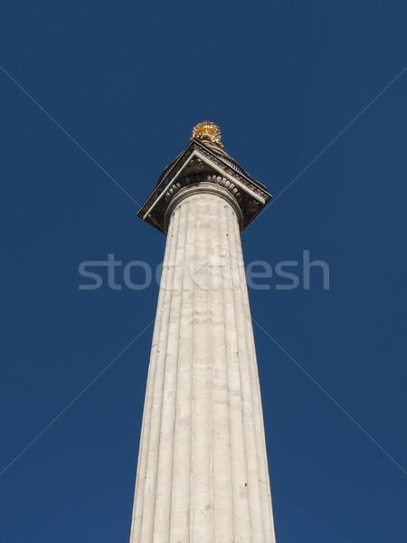 The Monument London Stock photo © claudiodivizia