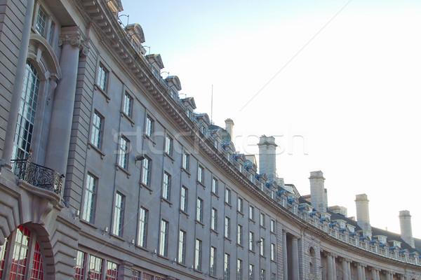 Regents Street, London Stock photo © claudiodivizia