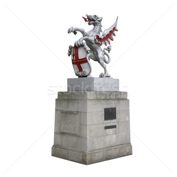 St George and the dragon Stock photo © claudiodivizia