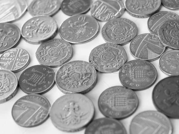 British pound coin Stock photo © claudiodivizia