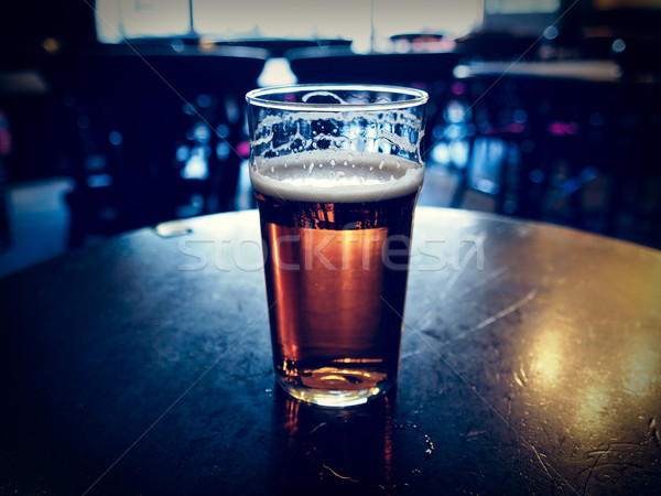 Pint of beer Stock photo © claudiodivizia