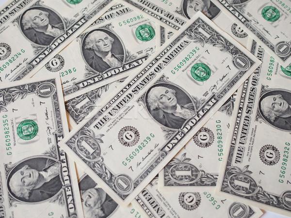 Dollaro note valuta Stati Uniti utile Foto d'archivio © claudiodivizia