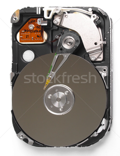 Pc magnetisch drive gegevensopslag technologie Stockfoto © claudiodivizia